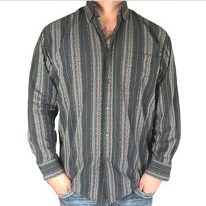 Bugatchi Uomo Unique Pattern Dress Shirt L